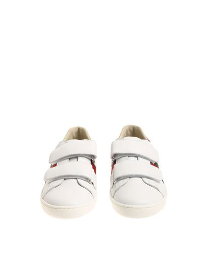 Gucci - White sneakers with logo