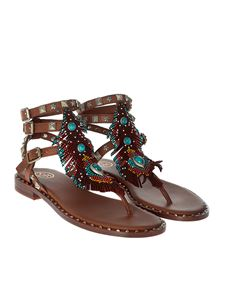 Ash - Brown Pandora thong sandals