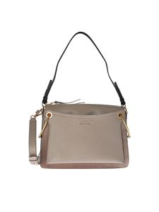 Chloé - Borsa Roy Medium grigia