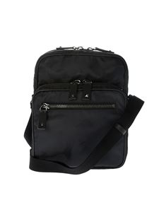Valentino - Black camouflage shoulder bag