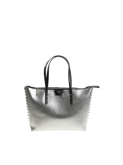 a69a81772367 Silver Tote Handbag - Foto Handbag All Collections Salonagafiya.Com