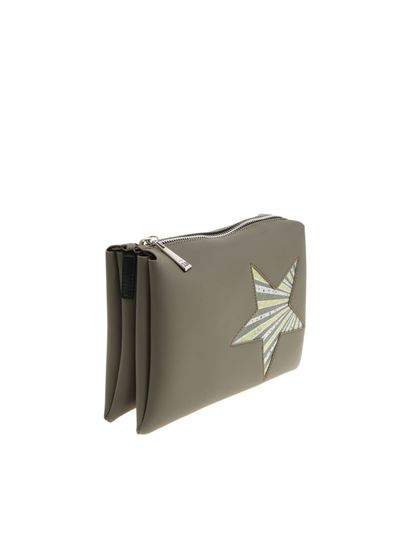 Green handbag with glitter star Gum Gianni Chiarini Wholesale Quality Buy Cheap Official qBYLma