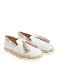 Tod's - White and pink shoes