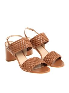 Casadei - Braided leather sandals