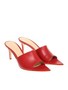 Gianvito Rossi - Red pointy sandals