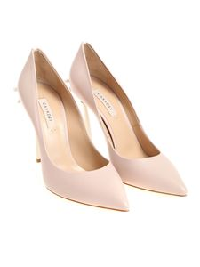 Casadei - Pink pointy pumps