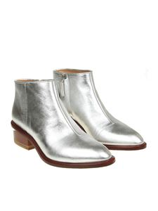 Alexander Wang - Silver Kori pointy ankle boots