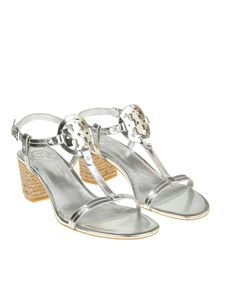 Tory Burch - Silver Miller sandals