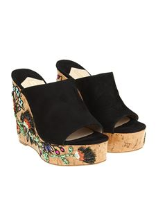 Paloma Barceló - Black Heliconia mules