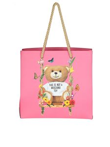 Moschino - Fuchsia Teddy Bear bag