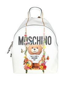 Moschino - White Teddy Bear backpack