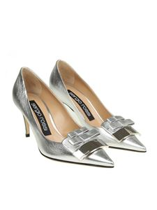 Sergio Rossi - Silver pointy pumps