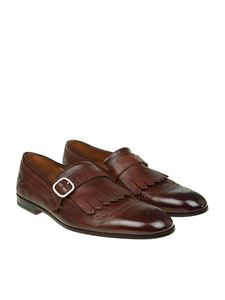 DOUCAL'S - Dark brown leather loafers