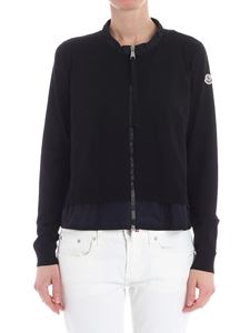 Moncler - Black viscose cardigan