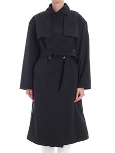Moncler - Black Roche trench coat