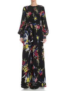 Diane von Fürstenberg - Black floral dress