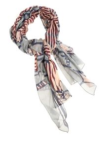 Manila Grace - Multicolor Regimental scarf