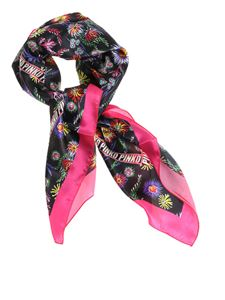 Pinko - Floral patterned Musdea scarf