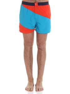 Kenzo - Turquoise and red swimsuit