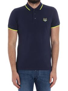 Kenzo - Blue K Fit Tiger polo