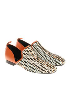 Paul Smith - Multicolor braided Bay shoes