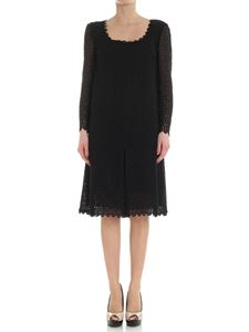 Ermanno Scervino - Black macramè dress
