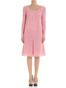 Ermanno Scervino - Pink macramè dress