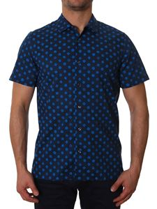Paul Smith - Blue shirt with floral print