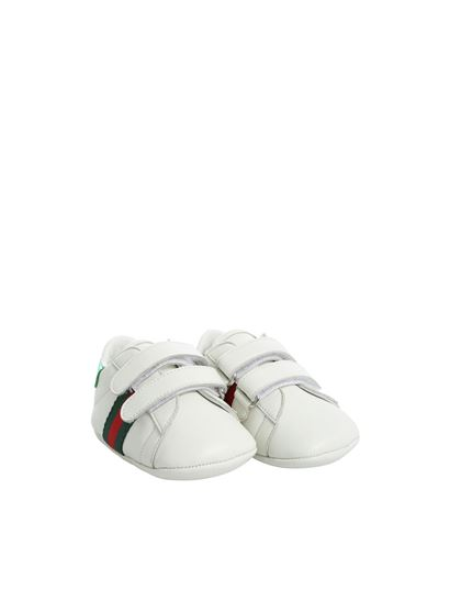 Gucci - White shoes with logo