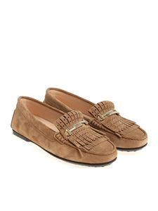Tod's - Light brown loafers