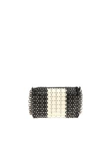 Red Valentino - Black and white leather shoulder bag