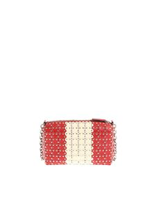 Red Valentino - Red and white leather shoulder bag