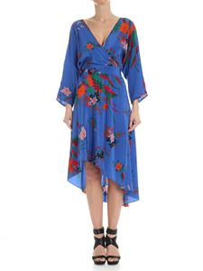 Diane von Fürstenberg - Blue floral dress