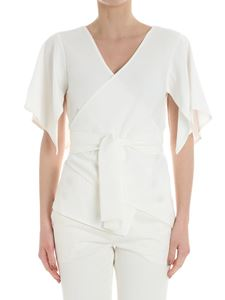 Diane von Fürstenberg - White cross top