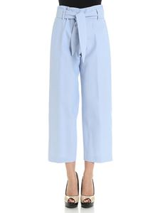 True Royal - Light blue Marta high waisted trousers