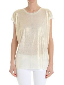 Avant Toi - White top with golden coating