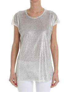 Avant Toi - White top with silver coating