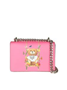 Moschino - Fucsia Teddy Bear shoulder bag