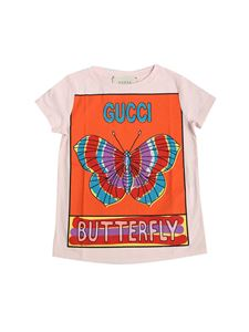 Gucci - Pink Butterfly T-shirt