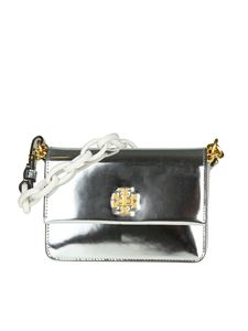 Tory Burch - Silver Kira mini bag