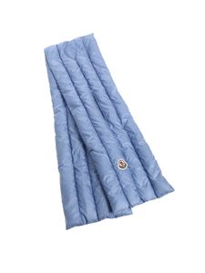 Moncler - Light blue down scarf