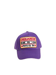 Dsquared2 - Purple cap with logo