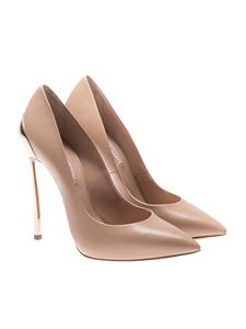 Casadei - Beige pointy pumps