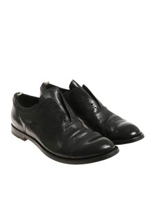 Officine Creative - Black leather shoes