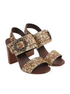 See by Chloé - Brown Glittery sandals