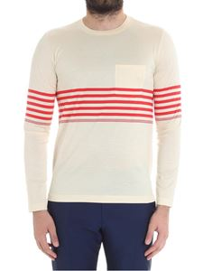 Paul Smith - Cream-colored sweater with a pocket