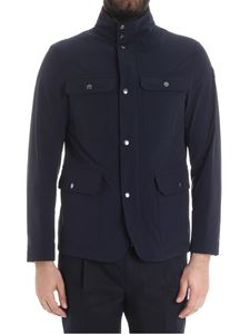 Moncler - Dark blue Curan jacket