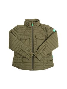 Save the duck - Army green padded jacket