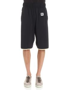 Kappa - Black sporty bermuda