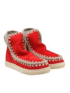 Mou - Red Summer Eskimo Sneaker boots